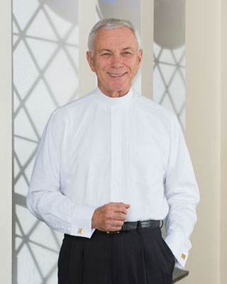 French cuff neckband clergy shirt