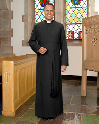 anglican year rounder cassock for men