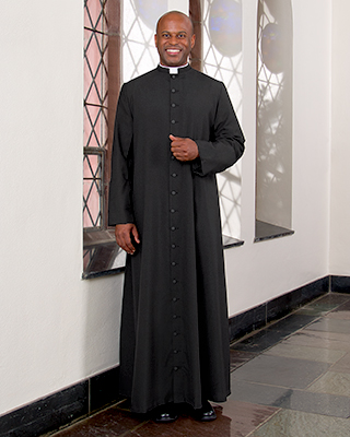 roman year rounder cassock for men