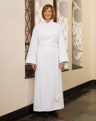 tropana cassock-alb for women