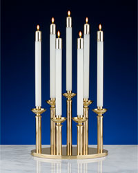 Tabletop Church Candelabra