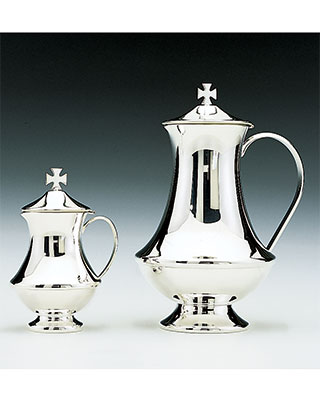 contemporary cruet flagon