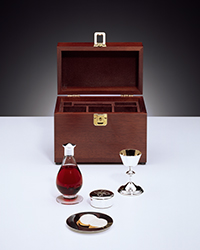 small portable communion set