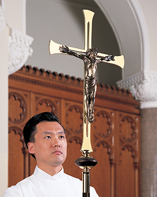 savior processional cross