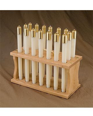 liquid church candle carriers