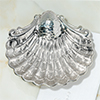 sterling silver baptismal shell