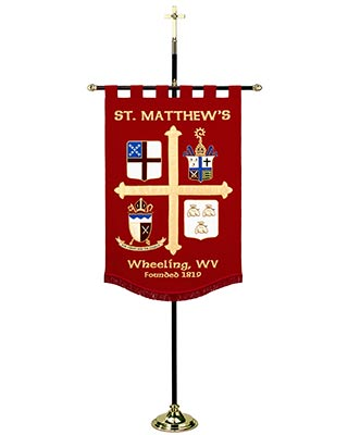 church banner stand
