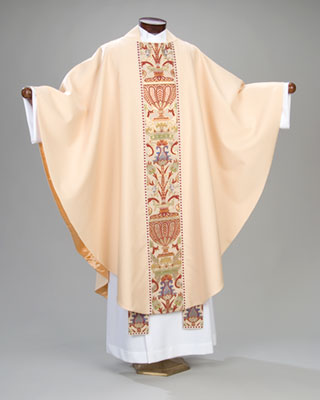 tapestry stole and chasuble
