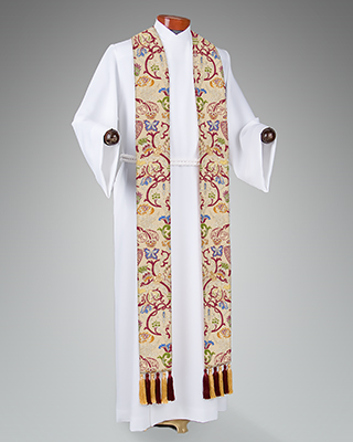 tapestry broad stole
