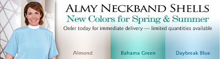 Almy Neckband Shells - New Colors for Spring & Summer
